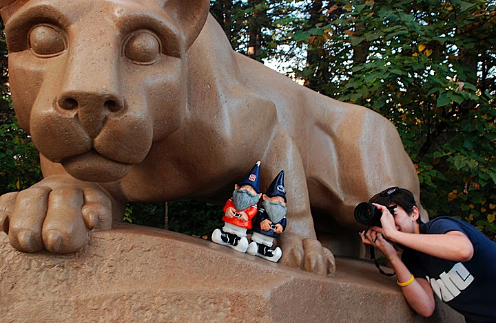 Penn State, Monica Witzig, photogjournalism, the Lion Shrine