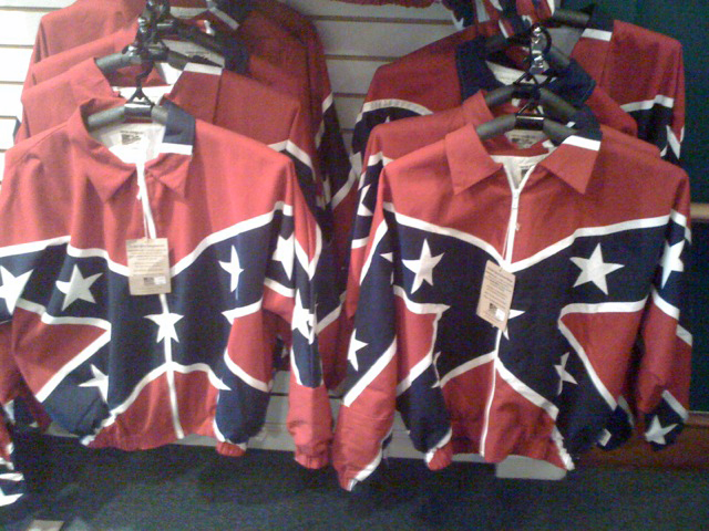 confederate flag jacket