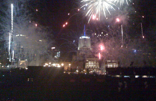 fireworks at PNC Park