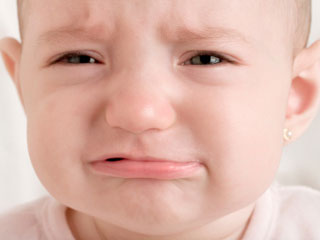 crying baby, sad baby