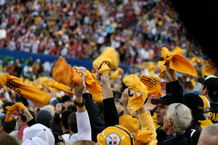 The Pittsburgh Steelers, Steelers, Pittburgh, The Terrible Towel, Myron Cope