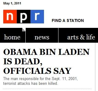 Osama bin Laden, Obama